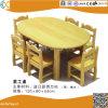 아이를 위한 유치원 나무로 되는 테이블