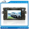 7 lettori DVD dell'automobile di pollice per Toyota Auris con il GPS, TV (E-2008)