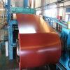 A cor do material de construção revestiu a bobina de aço galvanizada Prepainted