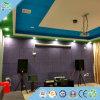 Painel acústico da placa da parede do painel de parede do teto de lãs de madeira