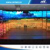 Visualización de LED de interior a todo color de P3.91mm para los proyectos de alquiler de la visualización de LED