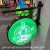De acryl Verlichte Lichte Doos van de Bar van het Bier