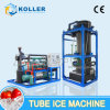 Máquina de hielo industrial del tubo de Guangzhou Koller con 10 toneladas de capacidad
