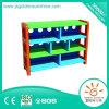 Governo di raccolta di plastica dell'organizzatore della mensola del giocattolo dei bambini con il certificato di Ce/ISO