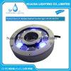 Luz de la piscina de la boquilla LED de la fuente de IP68 12VDC RGB subacuática