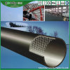 Труба PE ячеистой сети высокопрочной пластмассы Coated стальная