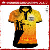 Vêtements estampés par Digitals faits sur commande de chemises de polo fabriqués en Chine (ELTMPJ-328)