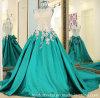 O vestido do baile de finalistas do Partido Verde perla o vestido de noite Ld1920 do laço