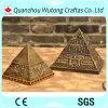 樹脂のホーム装飾のためのツーリストの記念品のピラミッド
