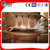 熱い販売のステンレス鋼マルチボディシャワーの鉱泉の木の鉱泉のベッドのマッサージ