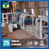 Fabricación concreta automática de la máquina de fabricación de ladrillo que se enclavija