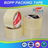 Cinta adhesiva clara a prueba de calor del embalaje de la película de la alta calidad BOPP