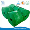 Mangueira flexível do PVC da irrigação colorida quente da agricultura do grande diâmetro do Sell