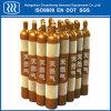 Cilindro de gás natural industrial do frasco do CO2 do oxigênio do nitrogênio do aço sem emenda