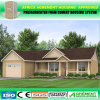 El bajo costo de la casa prefabricada del envío fácil instala casas modulares