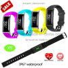 Armband van het Horloge van Bluetooth van het Tarief van het hart de Slimme met De Monitor van de Bloeddruk X9