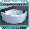 Vasca da bagno di lusso di massaggio di vendite dirette della fabbrica (526B)