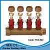 Pex 관 (F03-943)를 위한 공 벨브를 가진 다기관 Mf