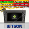 Carro DVD do Android 4.4 de Witson para Opel Astra com sustentação do Internet DVR da ROM WiFi 3G do chipset 1080P 8g (W2-A6968)
