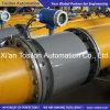 Flange Tipo eletromagnética Água Medidor de Vazão RS485 4-20mA