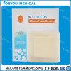 High Exudate Wound Treatment Sfd3004를 위한 Showerproof 각자 Adhesive Border Foam Wound Dressing