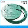 Plástico reforçado com fibra de vidro plástico da tampa de inspeção do Círculo