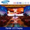 Pantalla de visualización video de LED de la función P3 RGB del uso de interior para la etapa