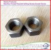 Zp l'écrou hexagonal en acier au carbone, GI DIN 934 M6-M36; 1/2-2 1/2, ASTM, Uni