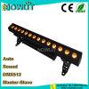 14PCS 30W RGB 3in1 LED防水LEDの壁の洗濯機ライト