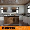 島(OP15-A07)とのOppein Acrylic Wood Kitchen Cabinet