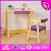 Kids W08g156c를 위한 2015명의 아이 Study Table Chair Set, New Children Table 및 Chair, School Wooden Table 및 Chair