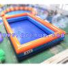 Aufblasbare große Wasser-Pools/doppelte Schicht-aufblasbares großes Pool
