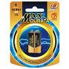 Maxdurata Super baterias Alcalinas (6LR61/9V)