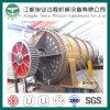 Asciugatrice di rotazione a bassa velocità del acciaio al carbonio