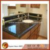 Parte superiore verde naturale di vanità della stanza da bagno del granito