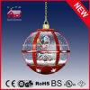 Todo Navidad roja de la lámpara de luz decorativos con Top Encaje
