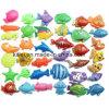 両面のプラスチック魚の大きさは子供の教育おもちゃをもてあそぶ