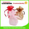 Venta al por mayor Soft tejido Drawstring bolsa de regalo de compras para los niños en Navidad y Año Nuevo