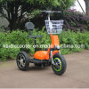 3つの車輪の電気Zappyスクーターの後部衝撃吸収性