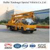 camion dello Special del carrello di movimentazione di elevata altitudine di 14m Isuzu Euro4