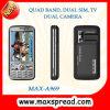 Tela do telefone móvel 3.0-Inch da tevê da faixa do quadrilátero A969