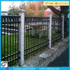 Clôture décorative en acier en métal de couleur bon marché