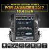 Zestech 10.4インチのアンドロイド7.1ホンダAvancier 2017の容量性タッチ画面GPSの運行FM/Am無線のBluetooth WiFi USB SD SWCのための縦スクリーンのマルチメディア