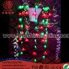 éclairage de décoration de Noël DEL de lumière de motif de la fleur 110-220V