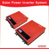 2000va 24V del inversor solar del sistema eléctrico de la red