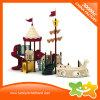 Glissière en plastique extérieure de tube d'enfants de matériel de jeu de jouet de parc d'attractions