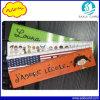 オフィスの学校の文房具のための定規の製造業者のカスタムロゴによって印刷されるプラスチック定規