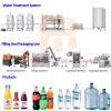 L'eau potable automatique de remplissage de bouteilles d'équipements de la machine de production/// Plant de ligne
