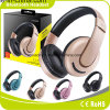 Auricular estéreo del auricular del receptor de cabeza plegable sin hilos de Bluetooth