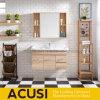 Moderner 100cm festes Holz-Badezimmer-Schrank des einfachen Entwurfs-(ACS1-W100)